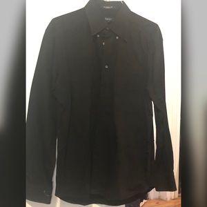 GANT Men's Black Button Down Size L